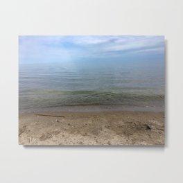 Shore of Woodbine Beach Metal Print