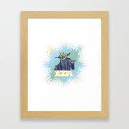 Yoda I am! Framed Art Print
