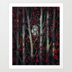 Night so Dark, Where are you? Art Print