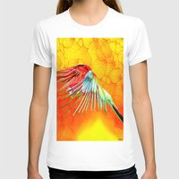 parrot T-shirts featuring Parrot by Ganech joe