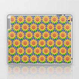 Sunflower Pattern_E Laptop & iPad Skin