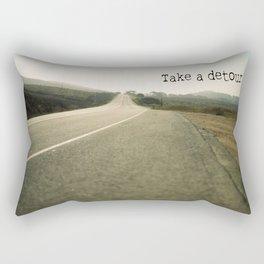 Take A Detour Rectangular Pillow
