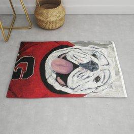 UGA Bulldog Rug