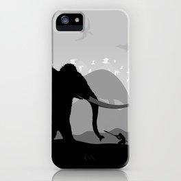Prehistoric time iPhone Case