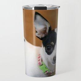 Puppy Portrait Travel Mug