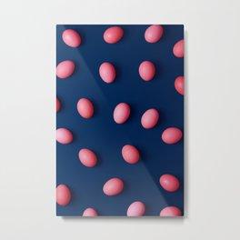 walking on eggshells Metal Print