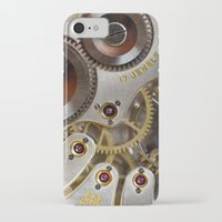 clockwork orange iPhone & iPod Cases featuring Clockwork Orange by Cornish Seascapes
