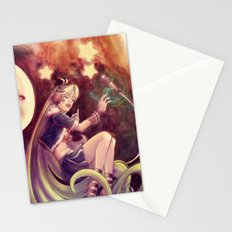 The Moon and the (Rock)Star Stationery Cards