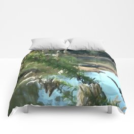 Lonely Rivers Comforters