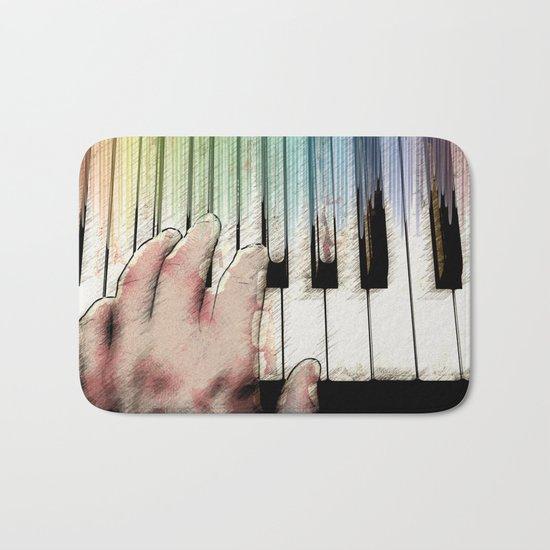 From keyboard to keyboard Bath Mat