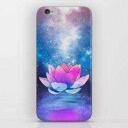 magic lotus flower iPhone Skin
