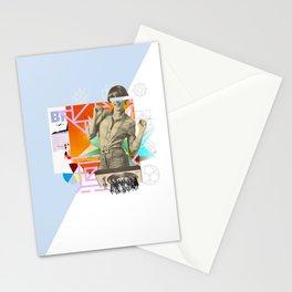 The yé-yé girl Stationery Cards