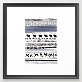 Pattern / Nr. 1 Framed Art Print