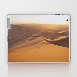 Sunset in the Sahara Desert Laptop & iPad Skin