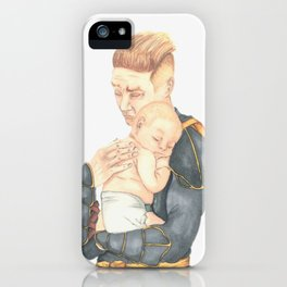 #3: Shhhh, the baby is sleeping iPhone Case