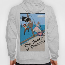 Pirates of Penzance Poster Hoody
