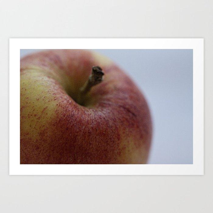 Fruit Fine Art Print Green Yellow Red Gala Apple Photo Wall