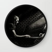 michael scott Wall Clocks featuring Scott by Scott Pratt