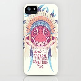 Learn from Nature iPhone Case