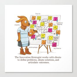 The Innovation Strategist Canvas Print