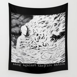 Aang Against the Fire Nation Wall Tapestry
