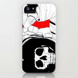 Skull Astronaut iPhone Case