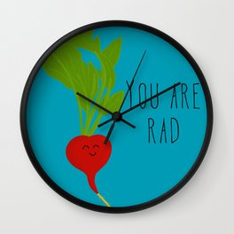You are Rad Wall Clock