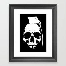 The Downfall Framed Art Print
