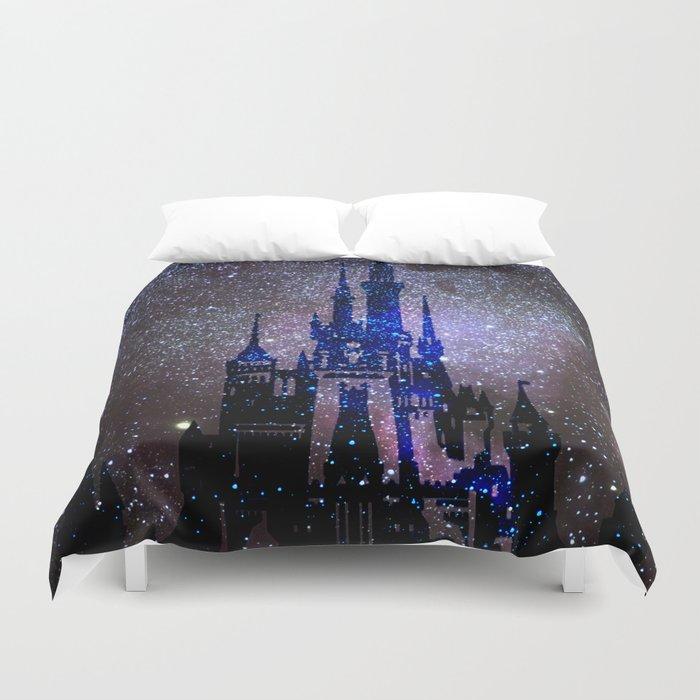 Fantasy Castle. Duvet Cover