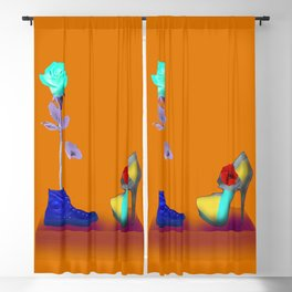 Proposal to May in May - Shoes stories Blackout Curtain