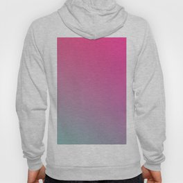 TOXIC FUMES - Minimal Plain Soft Mood Color Blend Prints Hoody
