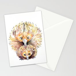 Enigmatic Echidnas Stationery Cards