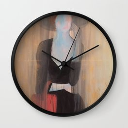 elegant woman Wall Clock