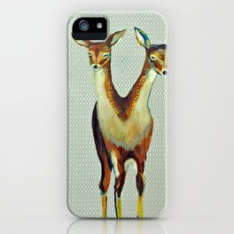 Deers iPhone Case