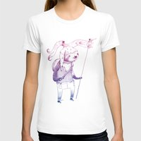 soldier T-shirts featuring Sloth Soldier by Maryanna Hoggatt