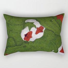 Underwater Crocs Rectangular Pillow