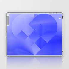 Danish Heart Blues Laptop & iPad Skin