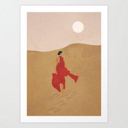 Dune Steps Art Print