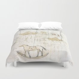 little memory Duvet Cover