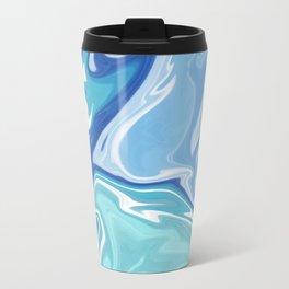 MARBLE - SEA - CLOUDS - SMOKE - WAVES Travel Mug
