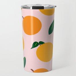 Oranges or Peaches? Travel Mug
