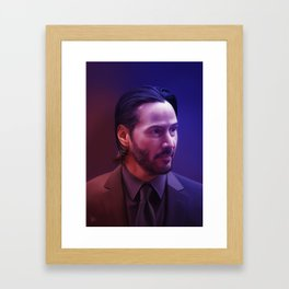 Man of Focus Framed Art Print