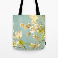 tangled Tote Bags featuring Tangled by Cassia Beck