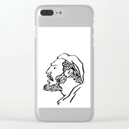 El Che Clear iPhone Case