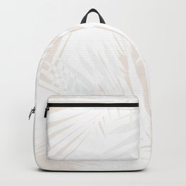 Palms White & Nude Backpack