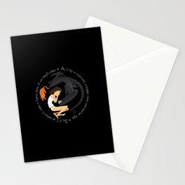 Ripley, the Alien and Jonesy Stationery Cards
