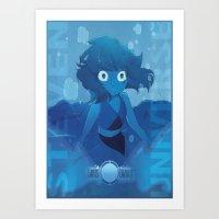 Lapis Lazuli - Steven Universe Art Print