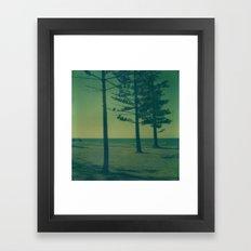 Port Macquarie Polaroid Framed Art Print