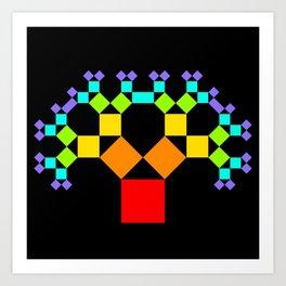 Pythagoras says HELLO -03- Art Print