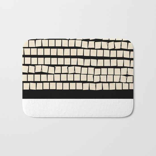 keep moving Bath Mat